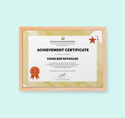 Free Kindergarten Certificate Template