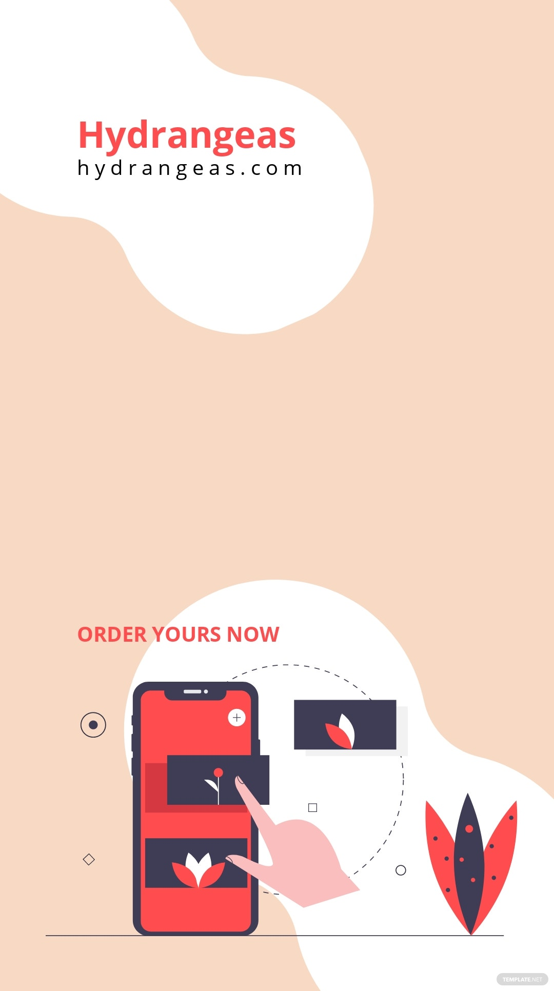 Floral Valentine's Day Instagram Story Template 2.jpe