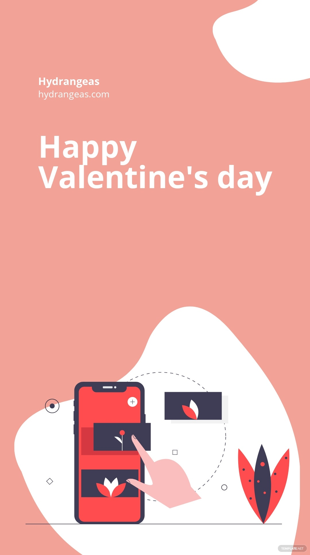 Floral Valentine's Day Instagram Story Template 3.jpe