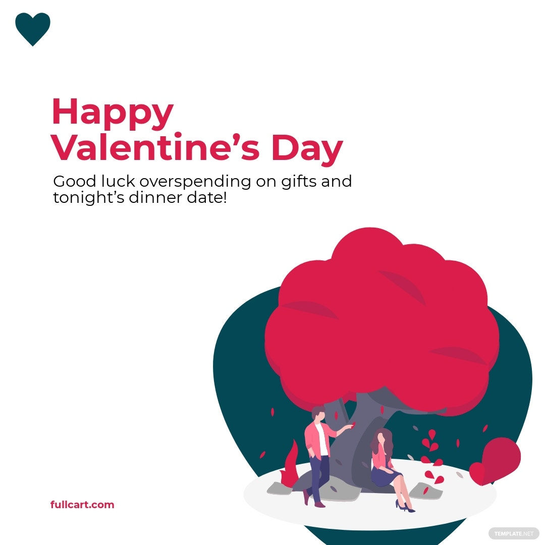 Funny Valentine's Day Instagram Post Template.jpe
