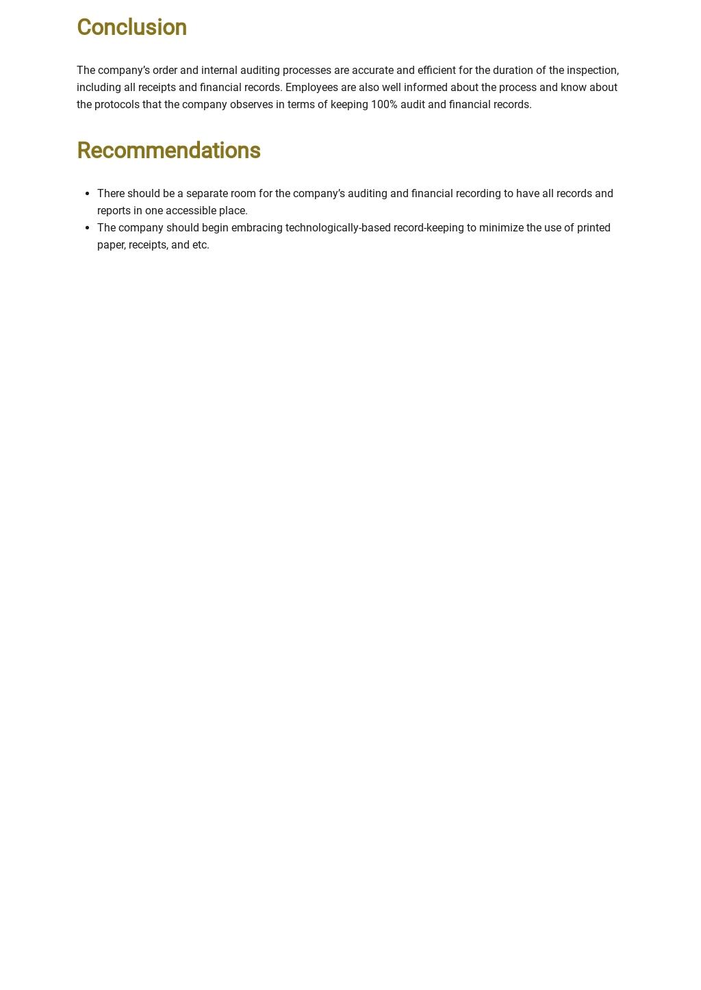 Free Finance Internal Audit Report Template 2.jpe