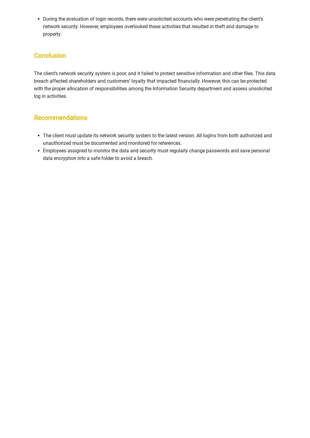 Free Internal Audit Report Template 2.jpe