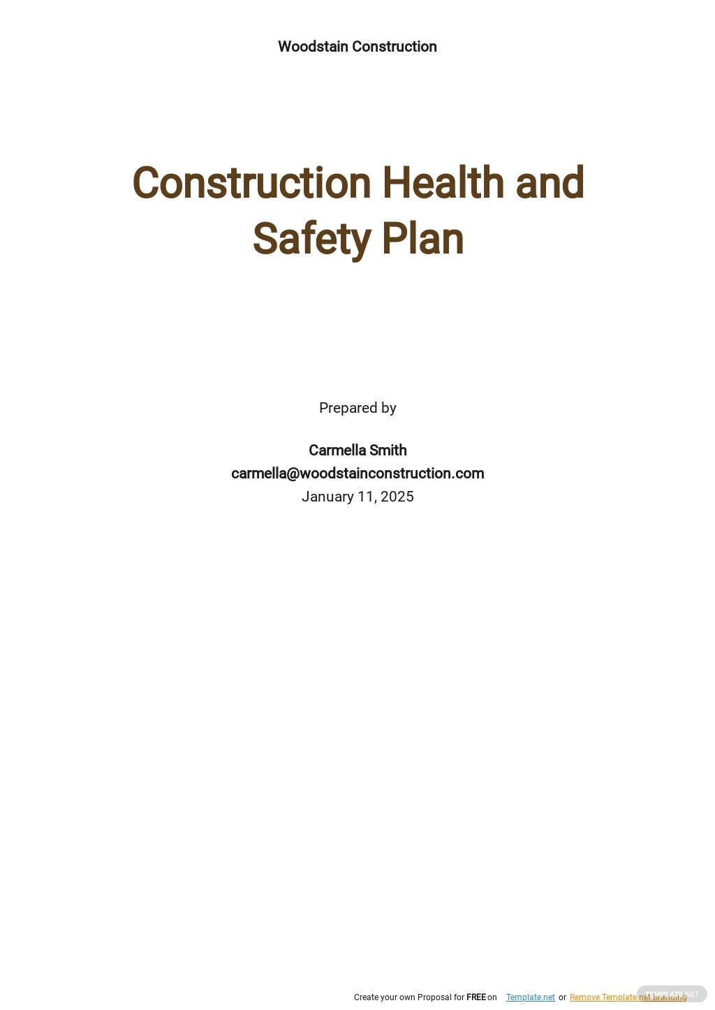 Construction Health and Safety Plan Template.jpe