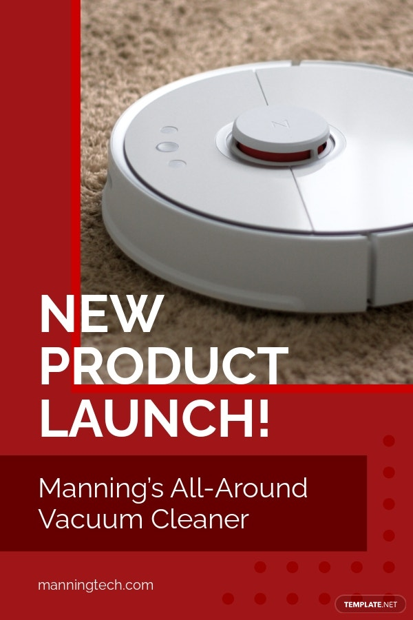 New Product Launch Pinterest Ad Template.jpe