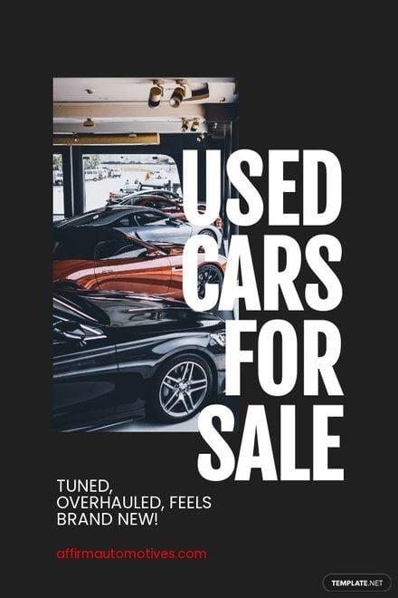 Automotive Pinterest Ad Template.jpe