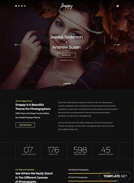 Snappy HTML5/CSS3 Website Template