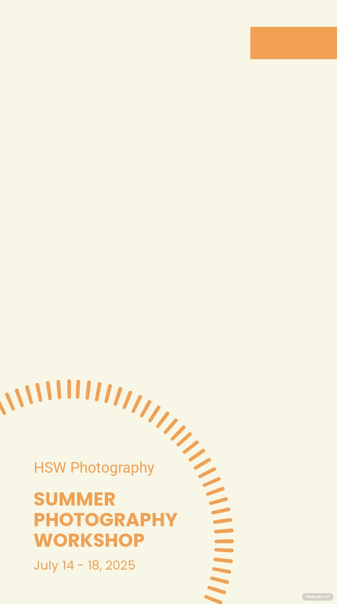 Photography Workshop Snapchat Geofilter Template.jpe