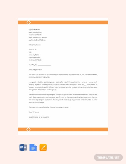 30+ FREE Job Application Letter Templates [Download Ready-Made ...