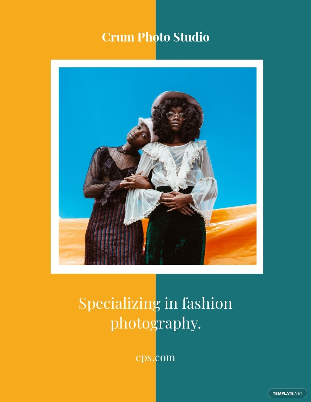 Fashion Photography Flyer Template.jpe