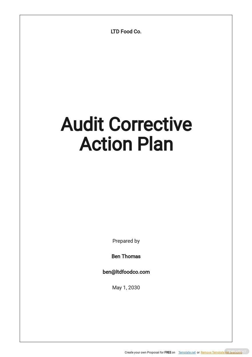 Audit Corrective Action Plan Template.jpe