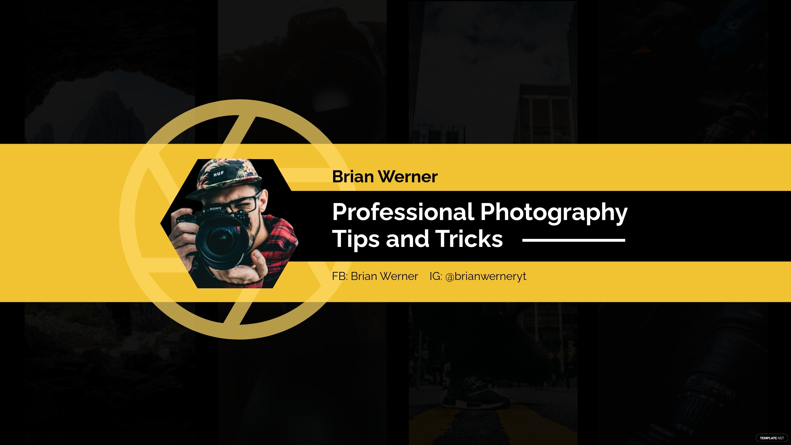 Professional Youtube Banner Template