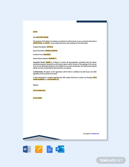 Free Property Offer Letter Template