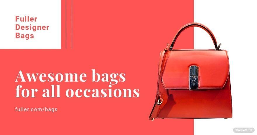 Bag Shop Facebook Ad Template