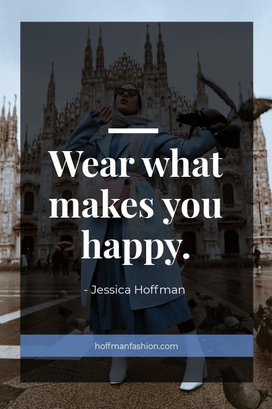 Fashion Quote Tumblr Post Template