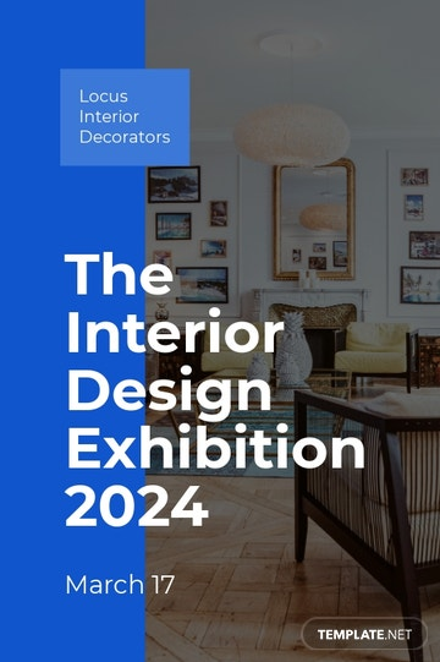Interior Decoration Event Tumblr Post Template