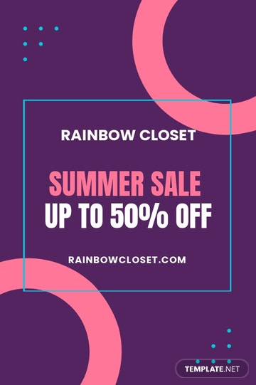 Clothes Sale Tumblr Post Template