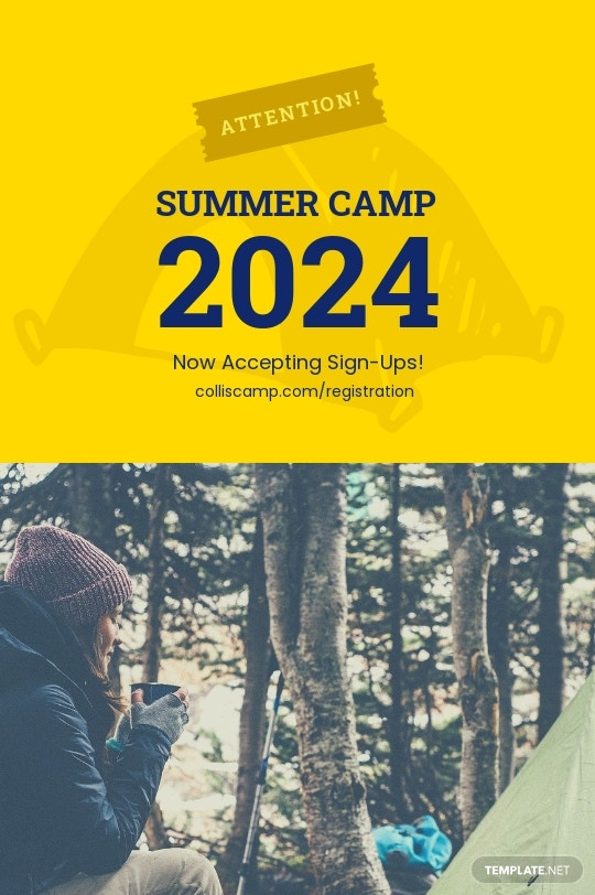 Camp Announcement Tumblr Post Template