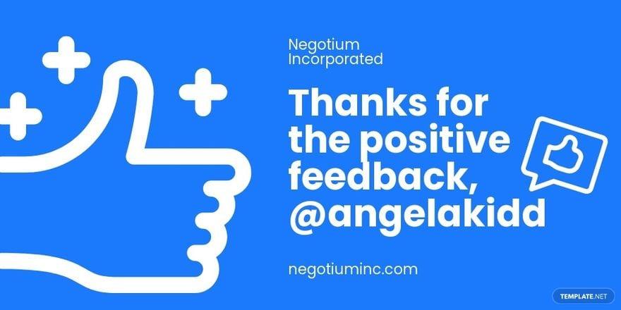 Client Appreciation Twitter Post Template