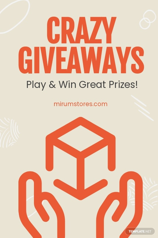 Giveaway Tumblr Post Template