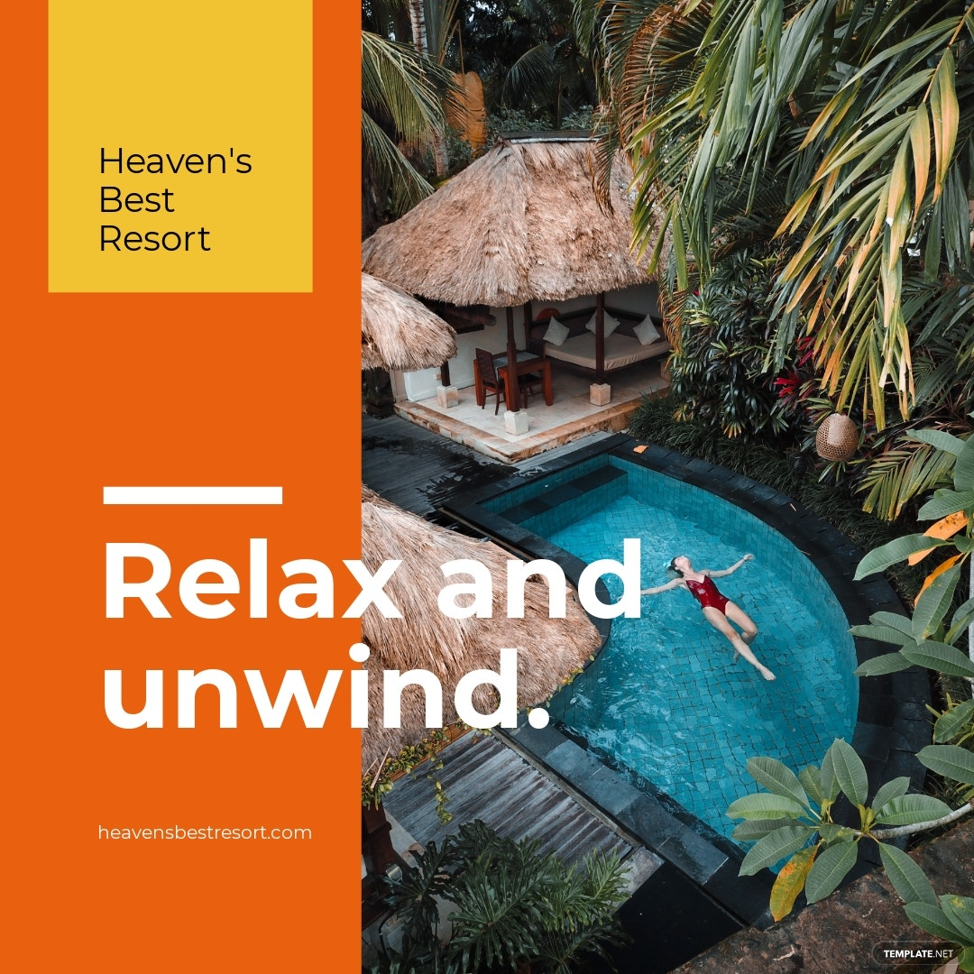 Resort Instagram Ad Template.jpe