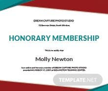 honorary member certificate template - free graduation certificate template in microsoft word