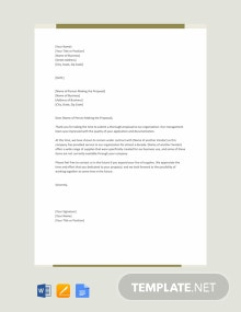 Free Polite Rejection Letter to Vendor