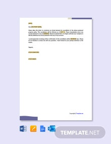 Free Letter to Property Insurance Company