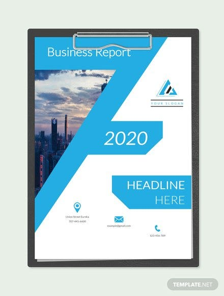 Free business report cover page template download 154 reports in free business report cover page template wajeb Image collections