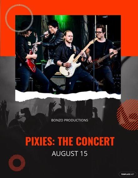 Concert Announcement Flyer Template.jpe