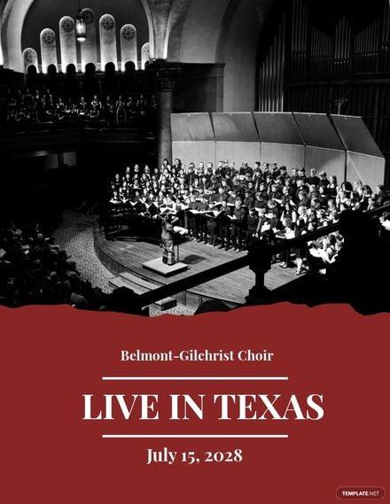 Choir Concert Flyer Template.jpe