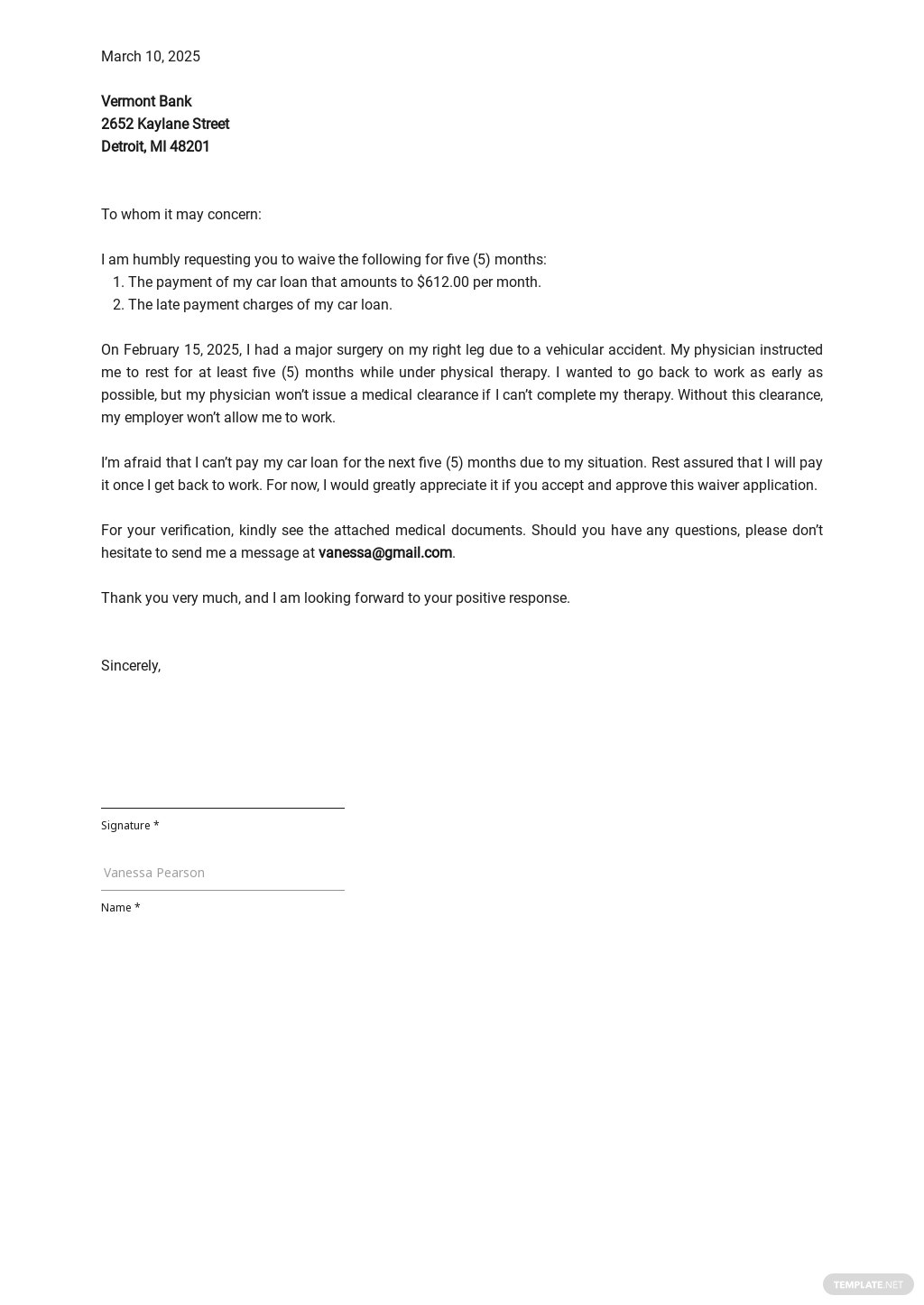Waiver Application Letter Template.jpe