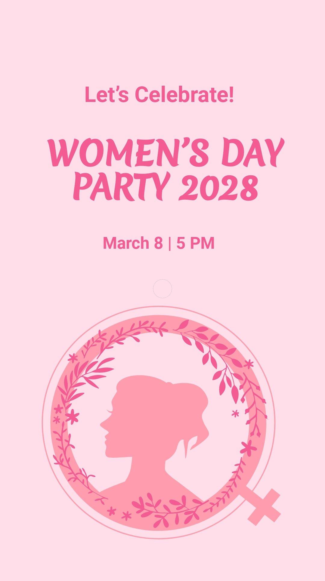 Women's Day Celebration Instagram Story