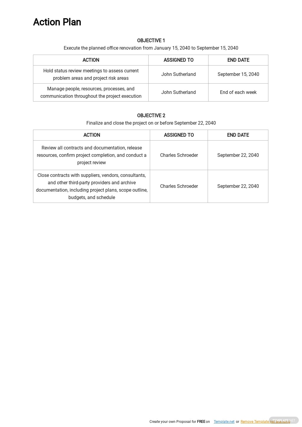 Project Management Execution Plan Template 2.jpe