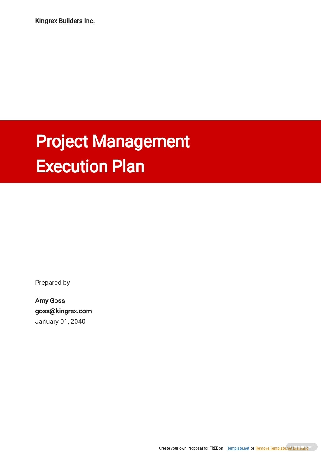 Project Management Execution Plan Template.jpe