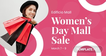 Women's Day Promotion Facebook Post