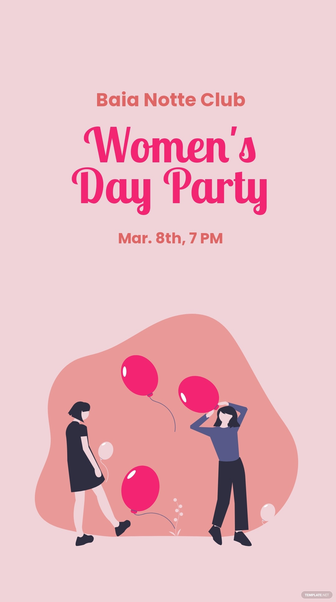 Women's Day Party Instagram Story Template