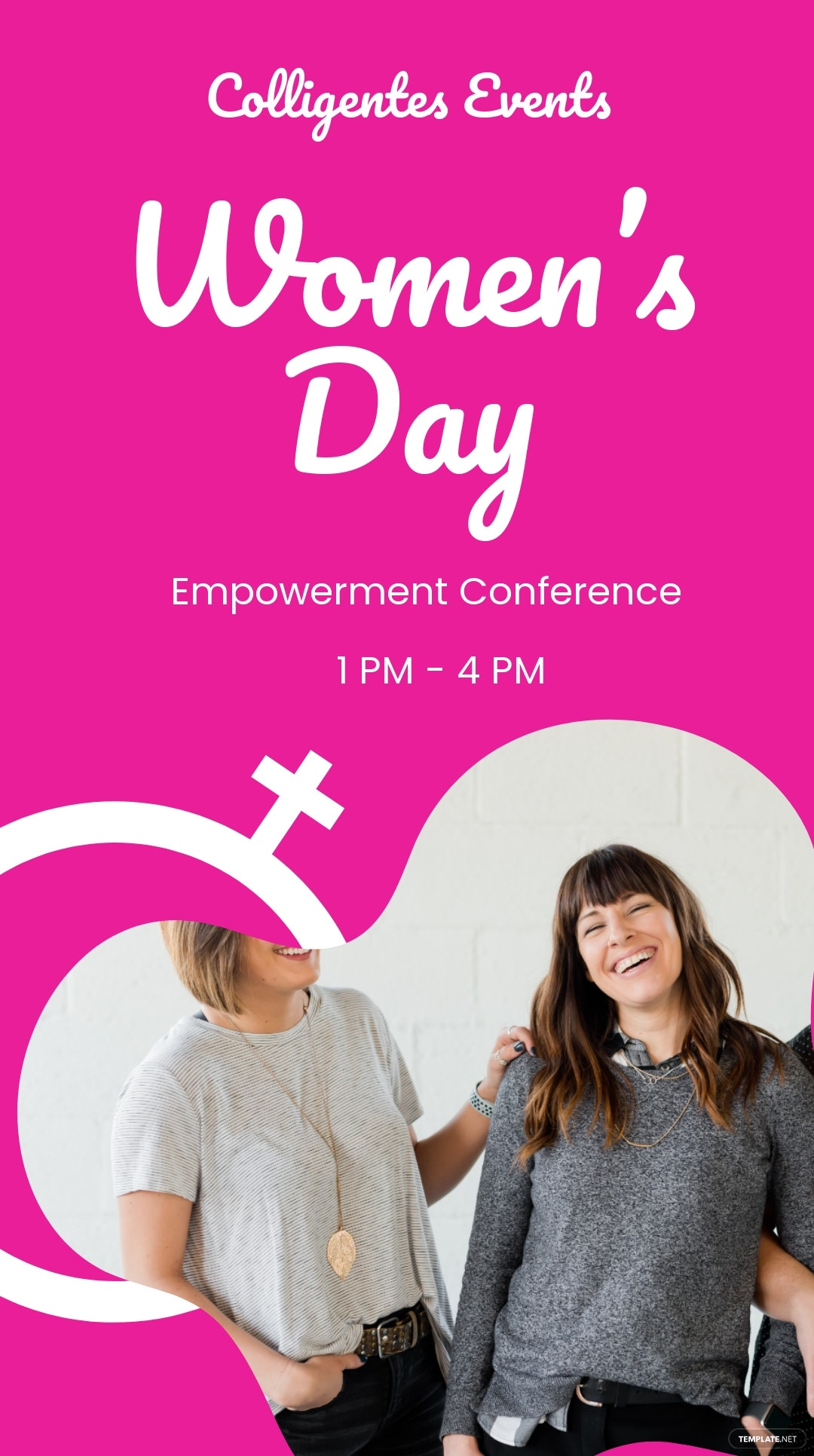 Women's Day Conference Instagram Story Template