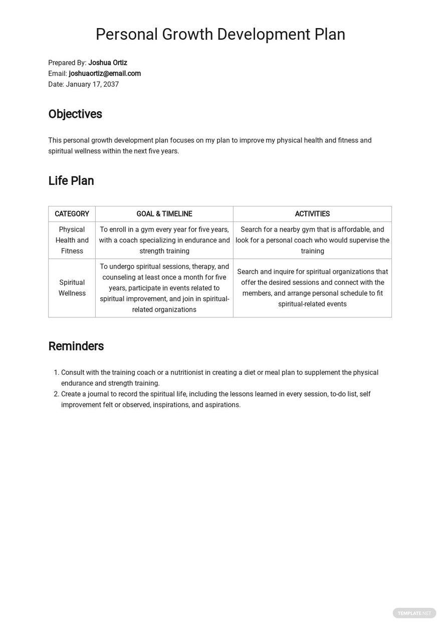 Personal Growth Development Plan Template.jpe