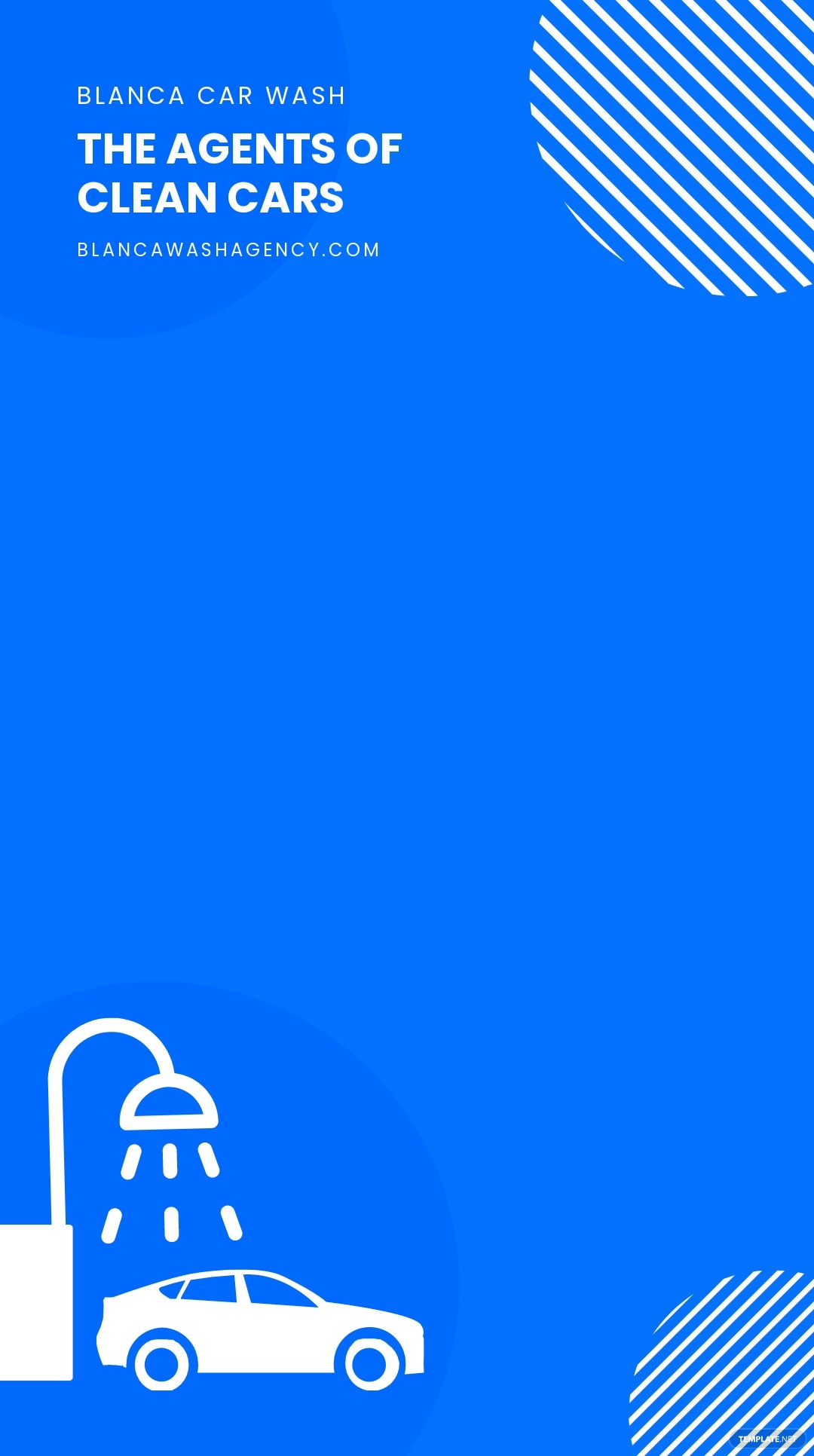Car Wash Agency Snapchat Geofilter Template.jpe