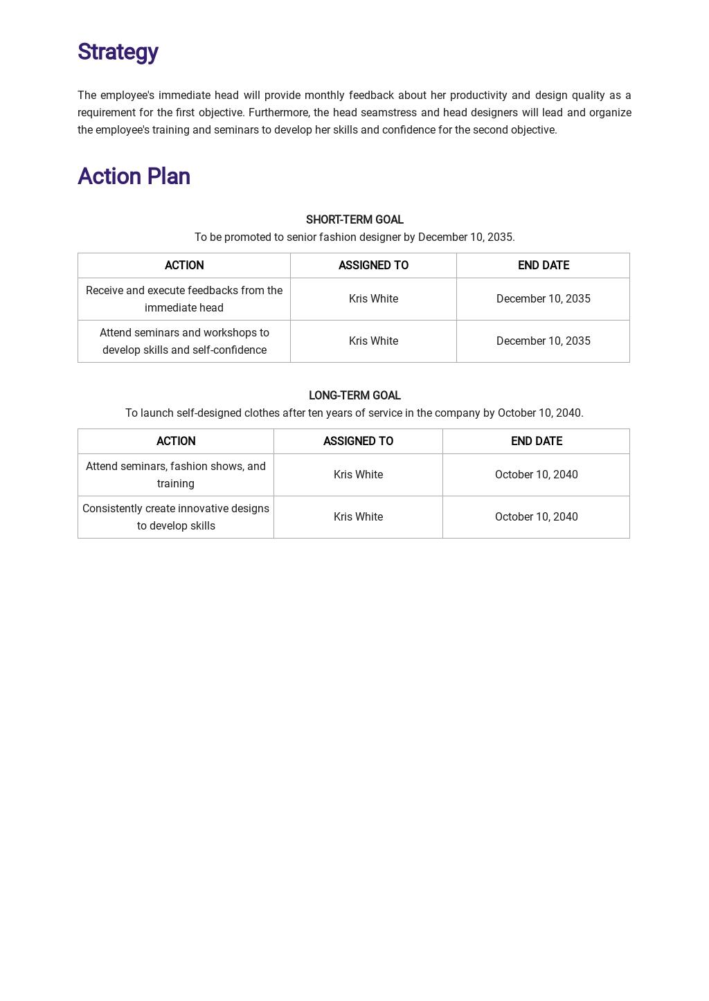 Sample Career Development Plan Template 2.jpe