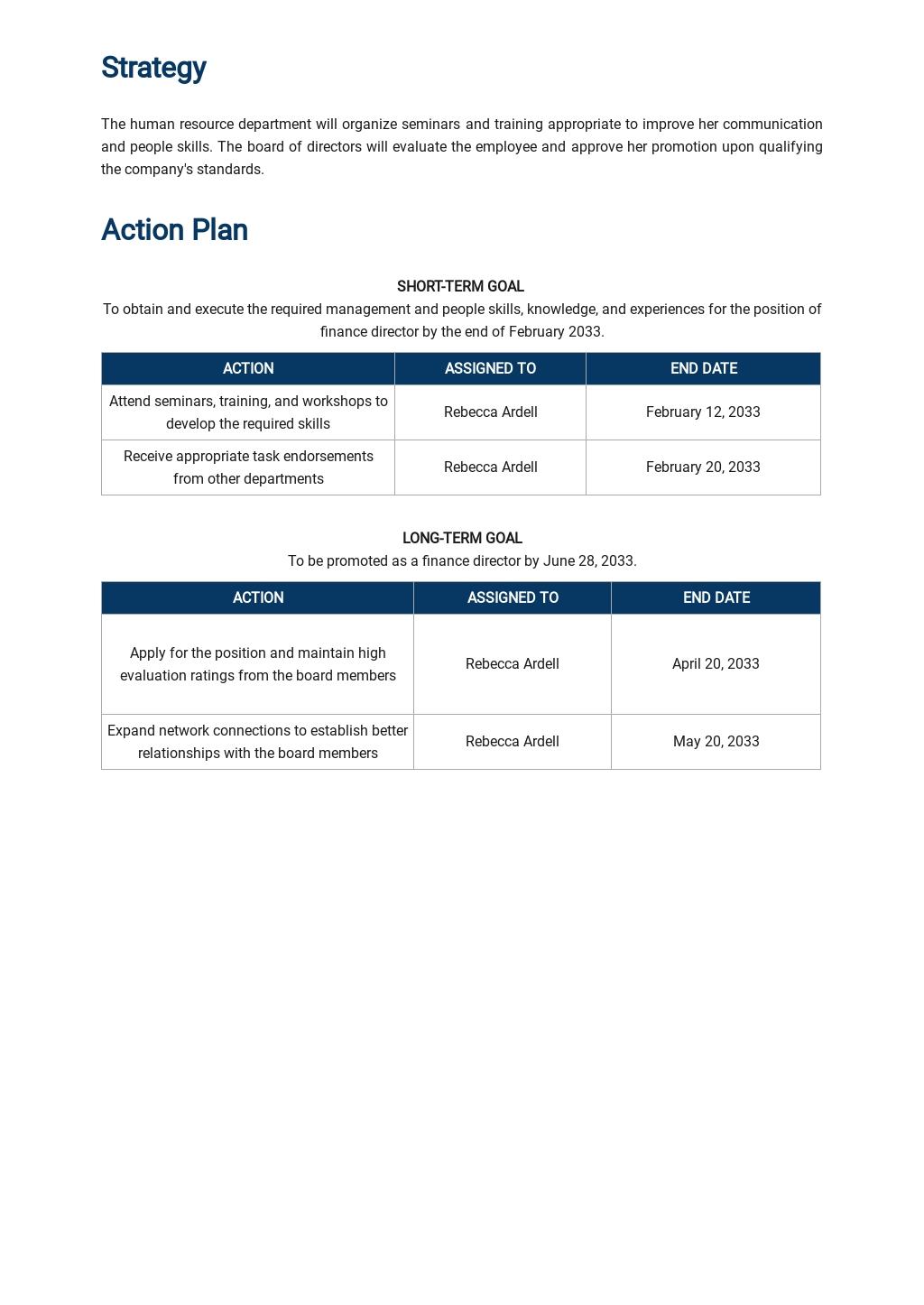 Executive Career Development Plan Template 2.jpe