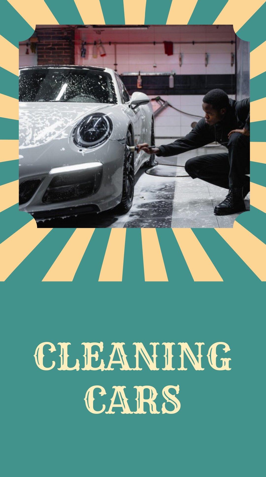 Vintage Car Wash Instagram Story Template 1.jpe