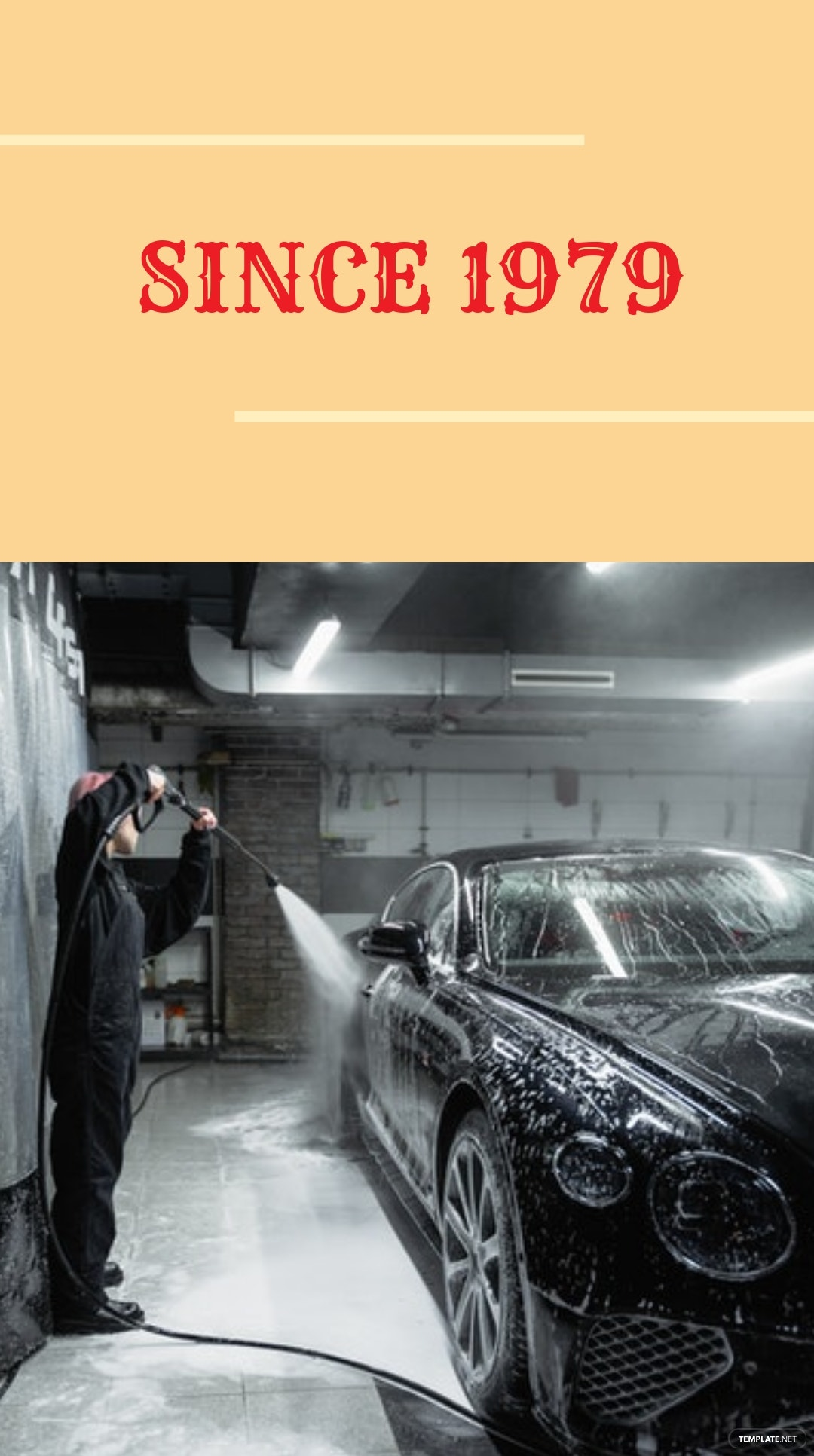 Vintage Car Wash Instagram Story Template 3.jpe
