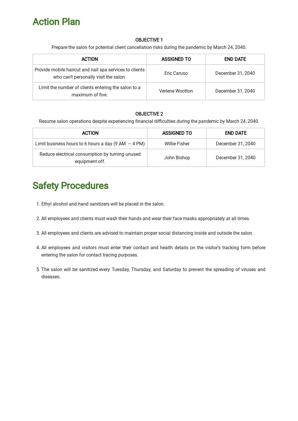Pandemic Contingency Plan Template 2.jpe