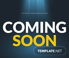 Free Coming Soon Flyer Template