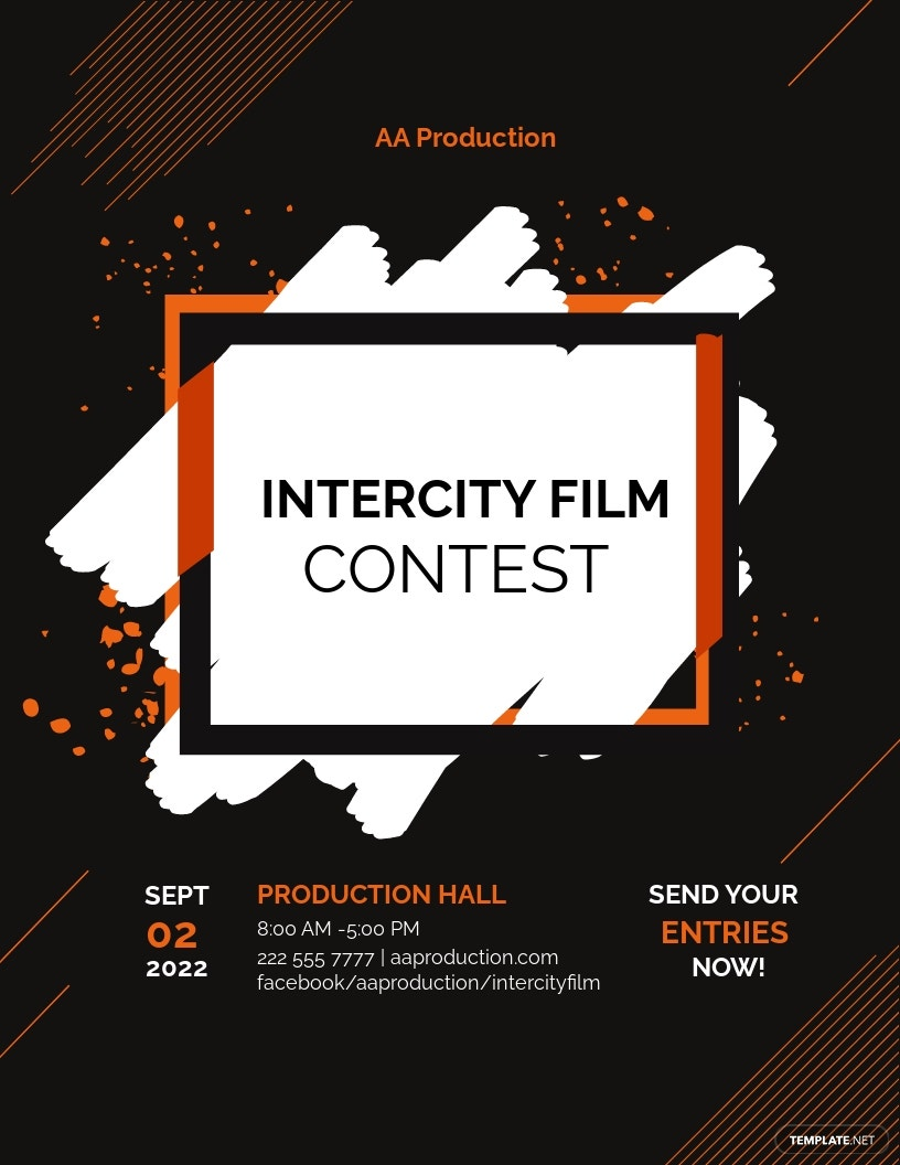 Contest Flyer Template