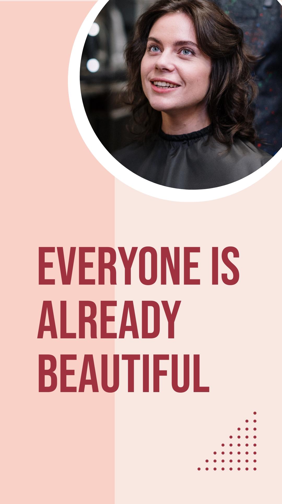 Simple Beauty Salon Instagram Story Template 1.jpe