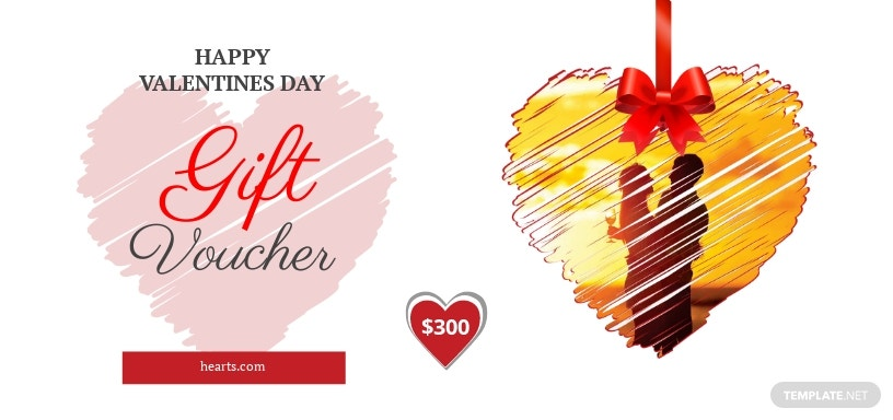Valentine's Day Gift Coupon Template