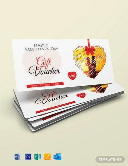 Free Valentine's Day Gift Coupon Template