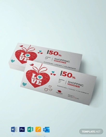Free Valentine's Day Shopping Coupon